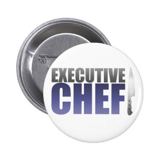 Blue Executive Chef Buttons