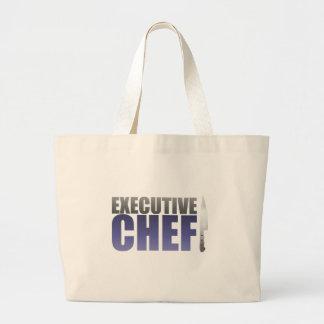 Blue Executive Chef Canvas Bags