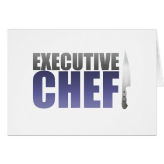 Blue Executive Chef Card