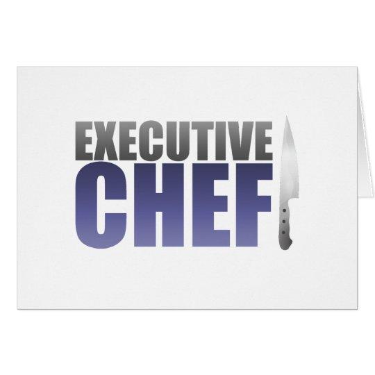Blue Executive Chef Card