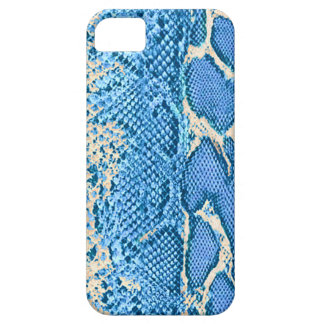 Blue Exotic Snake Skin iPhone 5 Cases