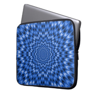 Blue Eye Bender Laptop Sleeve