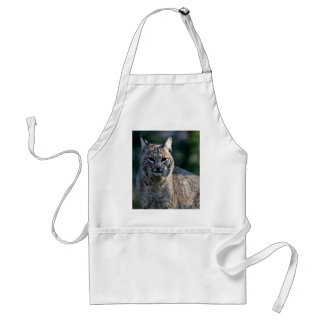 Blue eye Bobcat Adult Apron