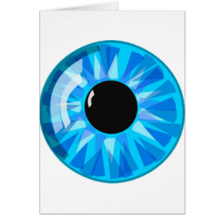Blue Eye Card