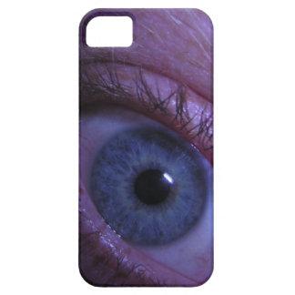 blue eye iPhone 5 cover