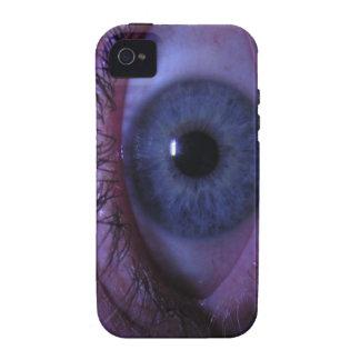 blue eye vibe iPhone 4 covers