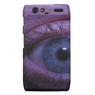 blue eye motorola droid RAZR cover