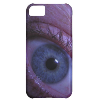 blue eye case for iPhone 5C