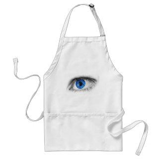 Blue Eye Detail Adult Apron