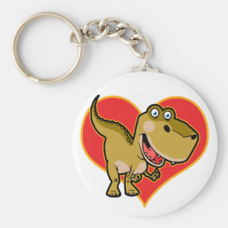 Blue eye Dino Keychain