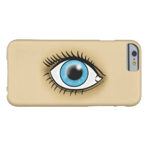 Blue Eye icon Barely There iPhone 6 Case