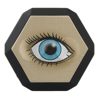 Blue Eye icon Black Boombot Rex Bluetooth Speaker