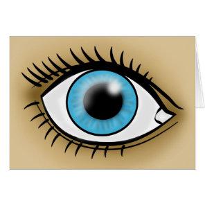Blue Eye icon Card