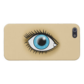 Blue Eye icon Cover For iPhone SE/5/5s
