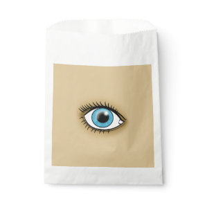 Blue Eye icon Favor Bag