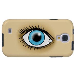 Blue Eye icon Galaxy S4 Case