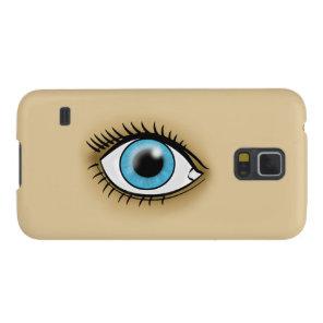 Blue Eye icon Galaxy S5 Case