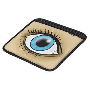 Blue Eye icon iPad Sleeve