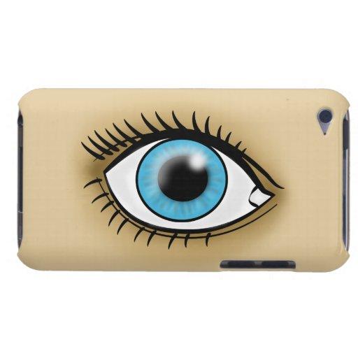 Blue Eye icon iPod Touch Case