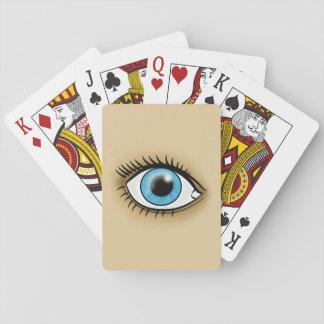 Blue Eye icon Poker Deck
