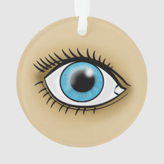 Blue Eye icon Ornament