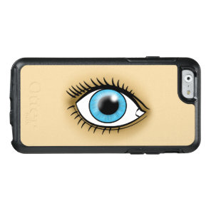 Blue Eye icon OtterBox iPhone 6/6s Case