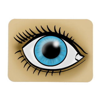 Blue Eye icon Magnet