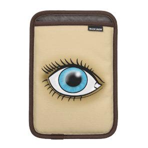 Blue Eye icon Sleeve For iPad Mini