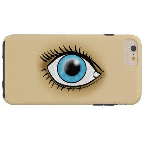 Blue Eye icon Tough iPhone 6 Plus Case
