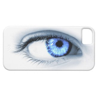 Blue Eye iPhone 5 Cases