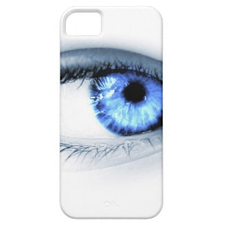 Blue Eye iPhone 5 Cover