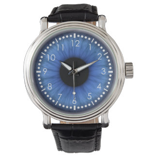 blue eye is cute wristwatch