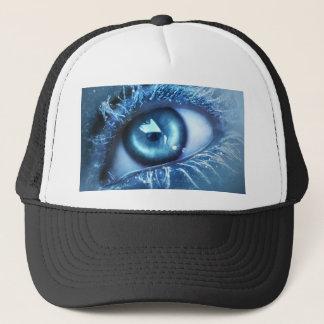 BLUE EYE.jpg Trucker Hat