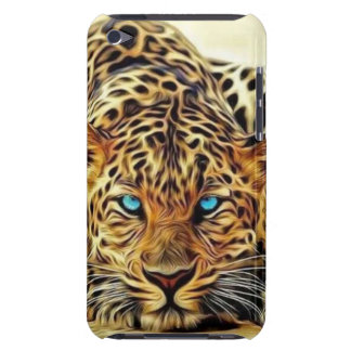 Blue Eye Leopard iPod Touch Cover