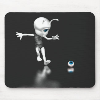 Blue Eye Lost Mouse Pad