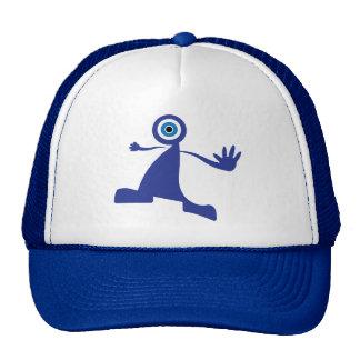 Blue Eye Monster Trucker Hat