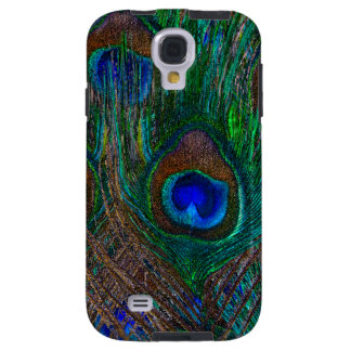 Blue Eye Peacock Feathers Stylish Decor Galaxy S4 Case