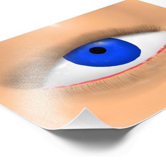 Blue Eye Photo Print
