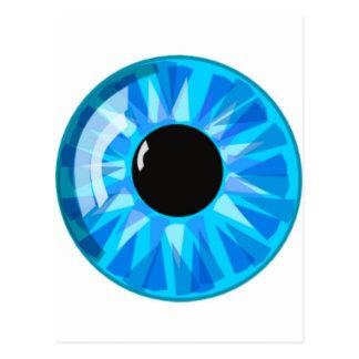 Blue Eye Postcard