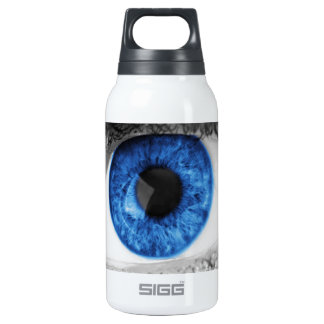 blue eye search for love insulated water bottle