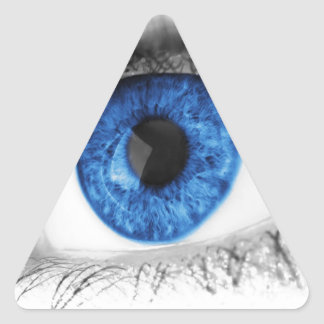 blue eye search for love triangle sticker