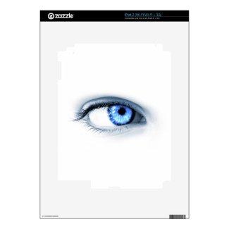 Blue Eye Skin For iPad 2