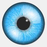 Blue Eye Stickers Round Sticker