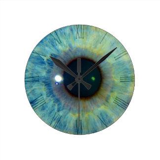 Blue Eye Wall Clocks