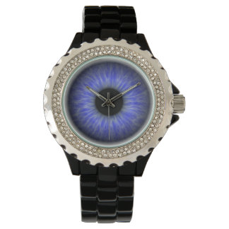 blue eye wristwatch