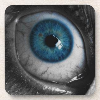 Blue Eyeball Beverage Coaster