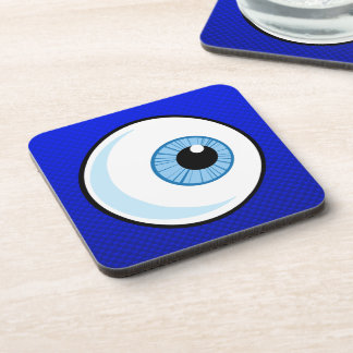 Blue Eyeball Beverage Coasters