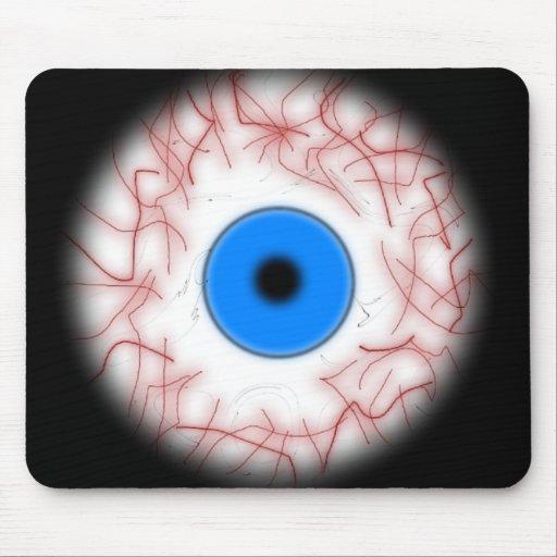 Blue Eyeball Mousepad