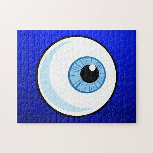 Blue Eyeball Puzzle