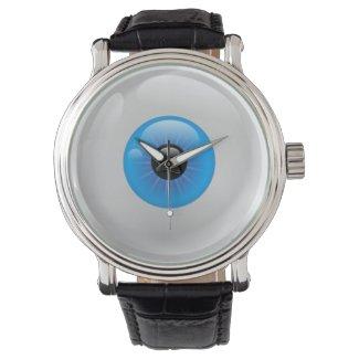 blue eyeball watch